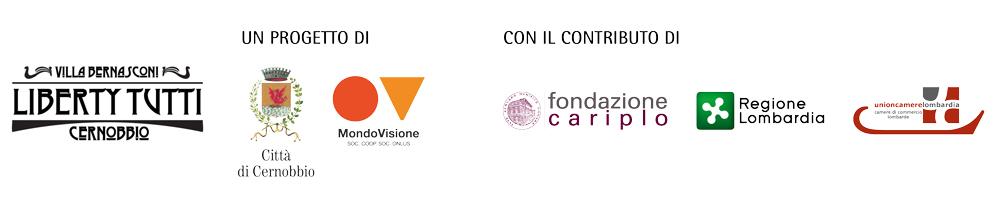 Liberty Tutti | Città di Cernobbio | Mondovisione | Fondazione Cariplo | Regione Lombardia | UnionCamere Lombardia