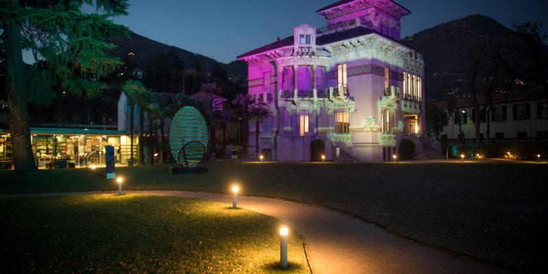 Cocoon a Villa Bernasconi rimarrà accesa fino al 31 gennaio