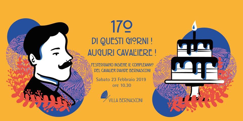 170 DI QUESTI GIORNI, AUGURI CAVALIERE!