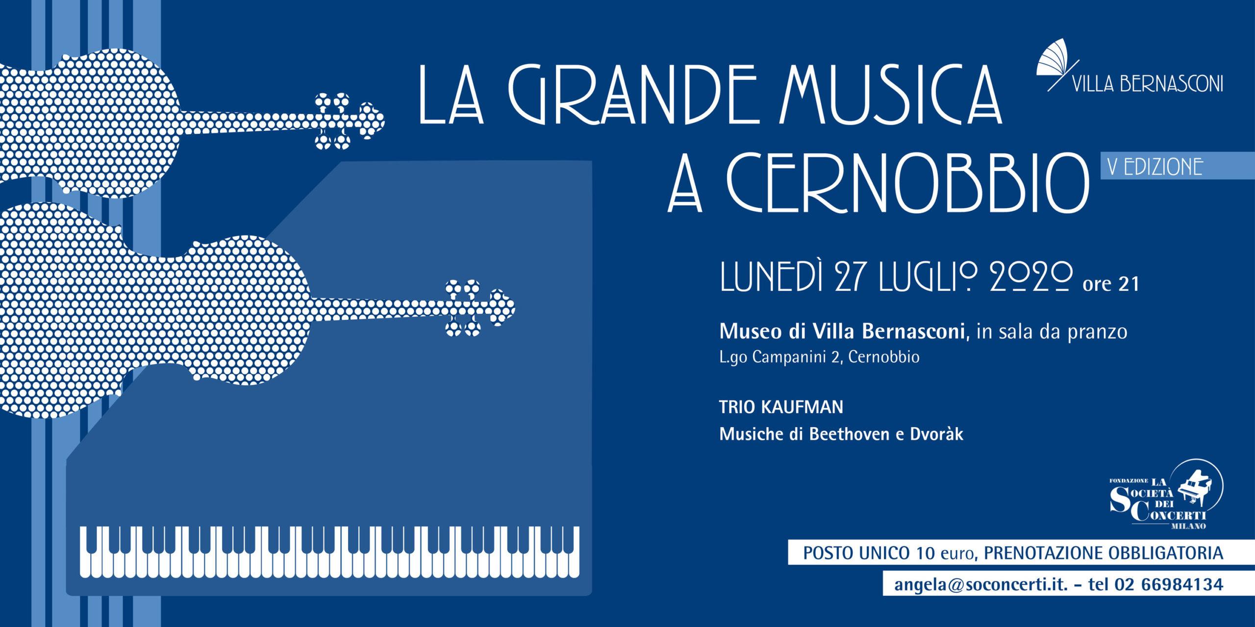 LA GRANDE MUSICA A CERNOBBIO – V EDIZIONE