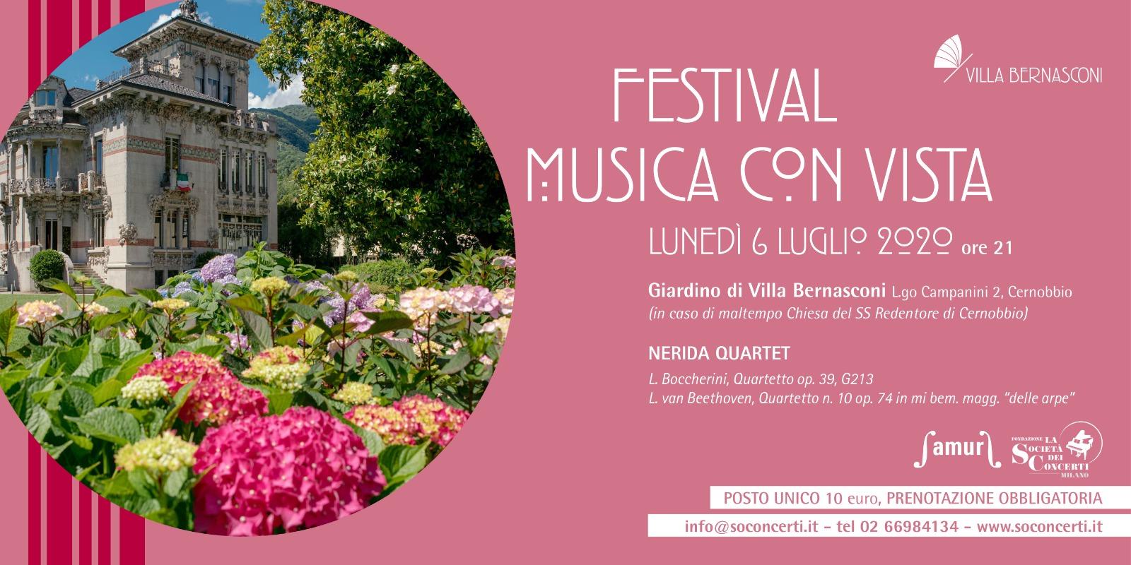 FESTIVAL MUSICA CON VISTA