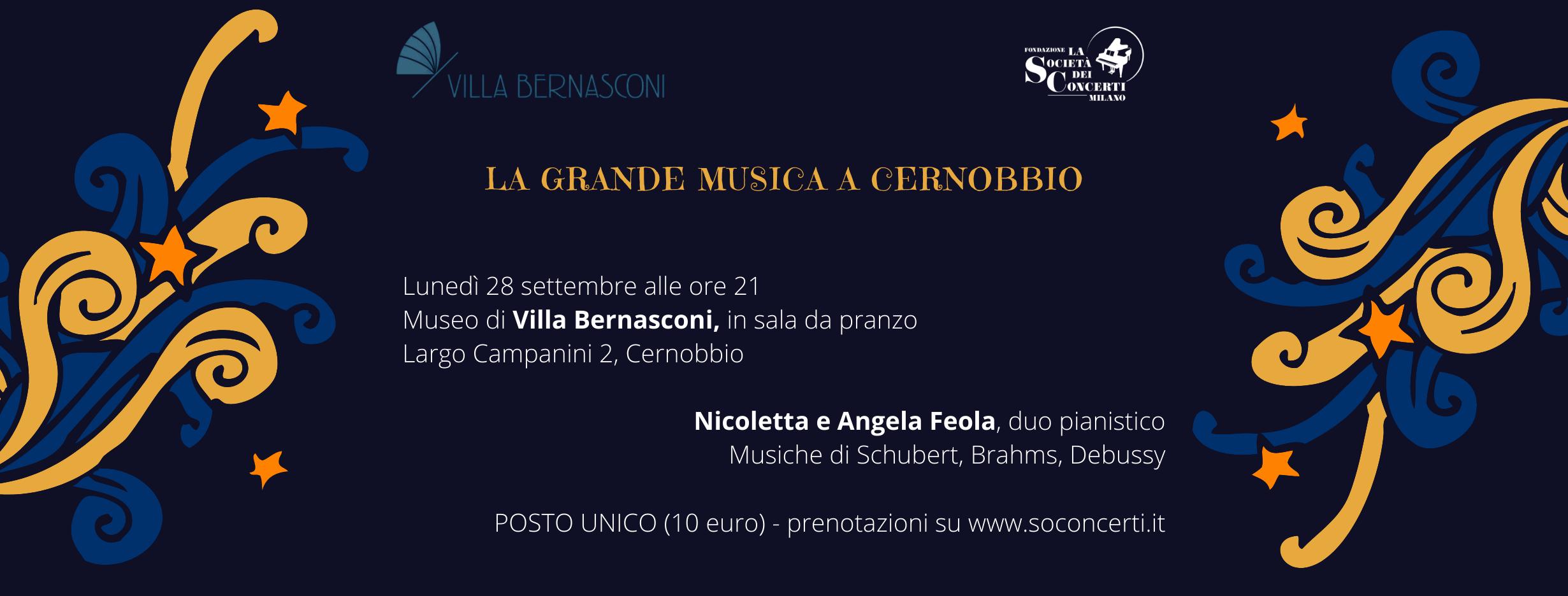 LA GRANDE MUSICA A CERNOBBIO – SETTEMBRE