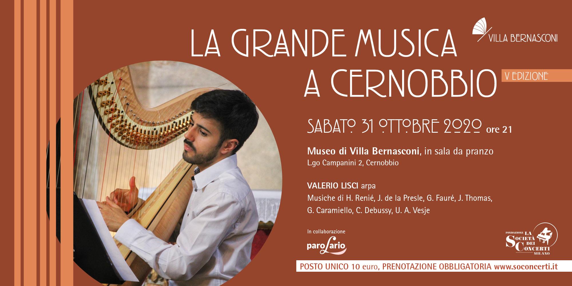 LA GRANDE MUSICA A CERNOBBIO – PAROLARIO