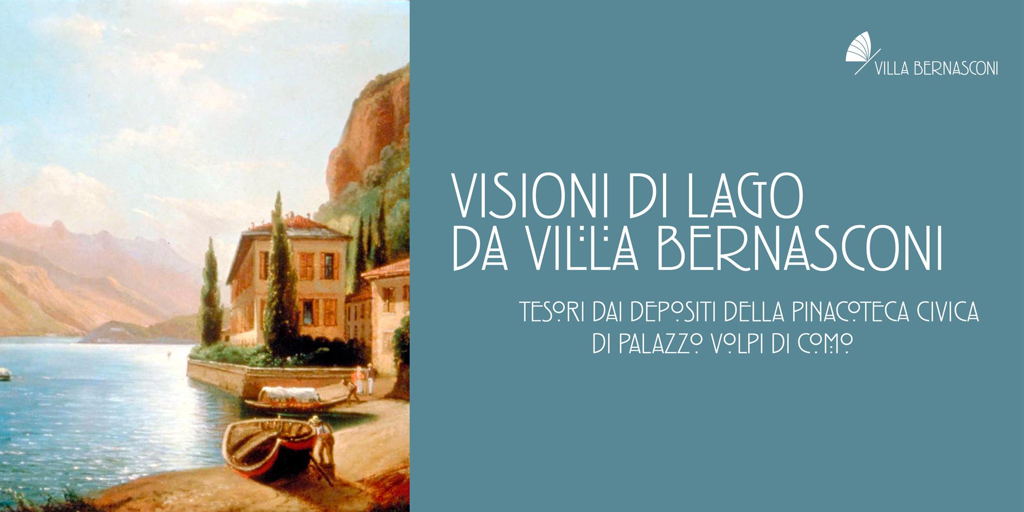 """""""VISIONI DI LAGO DA VILLA BERNASCONI"""": IN MOSTRA DAL 14 MAGGIO 2021"""