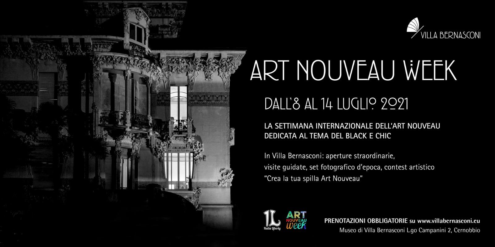 ART NOUVEAU WEEK 8-14 Luglio 2021